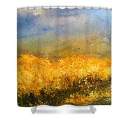 California Orchards Shower Curtain by Sherry Harradence