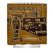 California Packing Corporation Shower Curtain