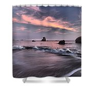 California Pastels Shower Curtain by Adam Jewell