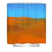California Summer Shower Curtain
