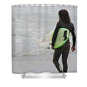 California Surfing Shower Curtain