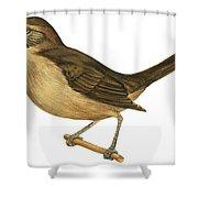 California Thrasher Shower Curtain