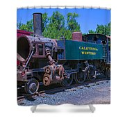 California Western Number 14 Shower Curtain