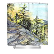 Californias Sierras Shower Curtain