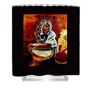Calipso Man Shower Curtain