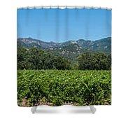 Calistoga Valley 2 Shower Curtain