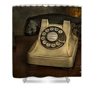 Call Me And Whisper Shower Curtain