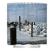 Call The Insurance Company Shower Curtain