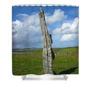 Callanish Avenue Stone Shower Curtain