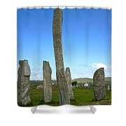 Callanish Inner Circle Shower Curtain