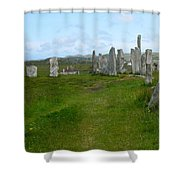Callanish Looking North Shower Curtain