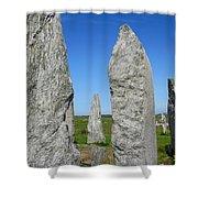 Callanish Stone Circle Shower Curtain