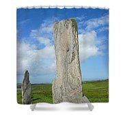 Callanish Tall Stones Shower Curtain