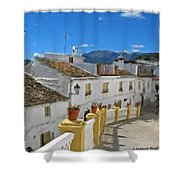 Calle Tipica Shower Curtain