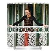 Calley In Full Color Shower Curtain
