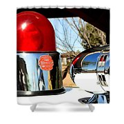 Calling All Cars Shower Curtain