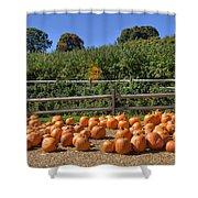 Calling Autumn Shower Curtain by Joann Vitali
