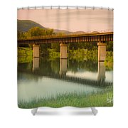 Calm Afternoon Shower Curtain