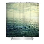 Calm At The Summer Sea Shower Curtain