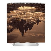 Calm Day In Patagonia Shower Curtain