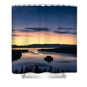 Calm Morning Shower Curtain