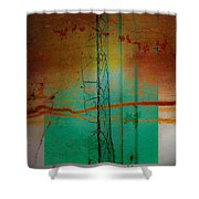 Calm Of Sand Shower Curtain