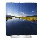 Calm River Shower Curtain
