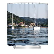 Calm Sea 2 Shower Curtain
