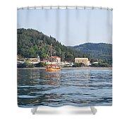 Calm Sea 3 Shower Curtain