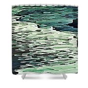Calm Shores Shower Curtain