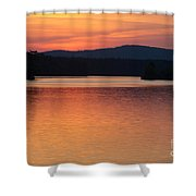Calm Sunset Shower Curtain