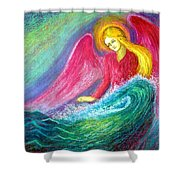 Calming Angel Shower Curtain