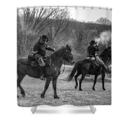 Calvary Charge Civil War Shower Curtain