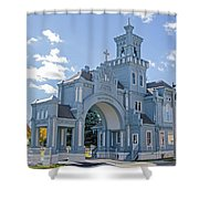 Calvary Gatehouse  Shower Curtain