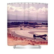Cam Rahn Bay Airfield Shower Curtain