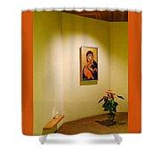 Camaldoli Monastery Prayer Room Shower Curtain