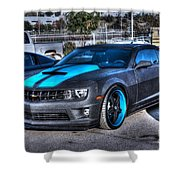 Camaro 1ss Coupe Shower Curtain