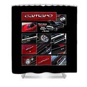 Camaro-drive - Poster Shower Curtain