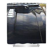 Camaro Hood Shower Curtain