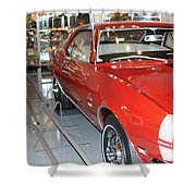 Camaro Ss Shower Curtain