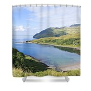 Camas Nan Geall Ardnamurchan Scotland Shower Curtain