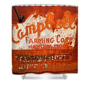 Cambell Farming Corperation Hardin Montana Shower Curtain