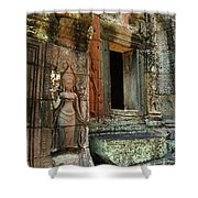 Cambodia Angkor Wat 2 Shower Curtain