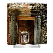 Cambodia Angkor Wat 5 Shower Curtain