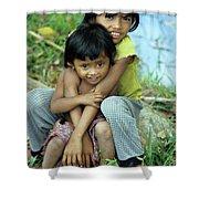 Cambodian Children 02 Shower Curtain