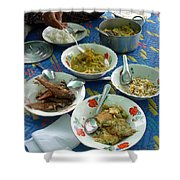 Cambodian Life 13 Shower Curtain