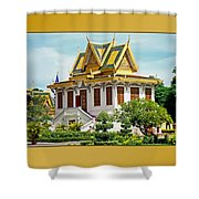 Cambodian Temples 1 Shower Curtain
