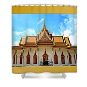 Cambodian Temples 2 Shower Curtain
