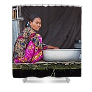 Laundry Day Shower Curtain