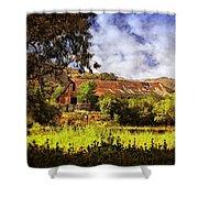 Cambria Farmland Shower Curtain
